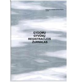 Gydomų gyvūnų registracijos žurnalas 36l