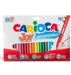 Flomasteriai Carioca Joy 24sp