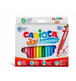 Flomasteriai Carioca Joy 36sp