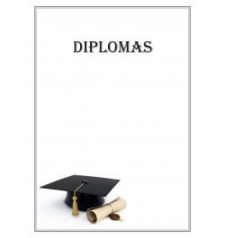 Diplomų popierius Mokslai A4