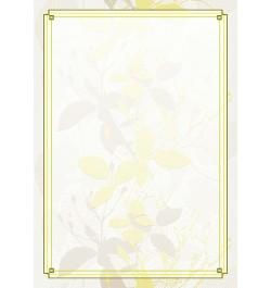 Diplomų popierius Gėlė A4