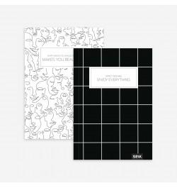 Užrašų knyga Black&White...