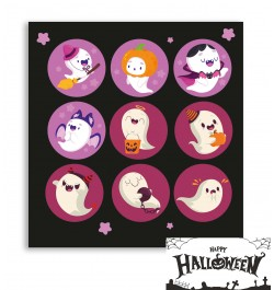 Lipdukai Buh Halloween Gosts