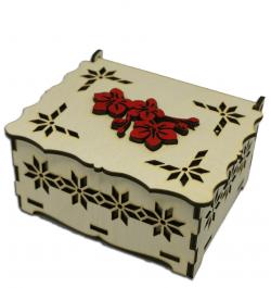 Dėžutė medinė graviruota...