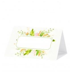 Vardo kortelės Flora 12vnt