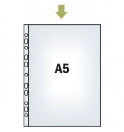 Įmautės Interfolia A5 PP-GL 40mic skaidrios 100vnt