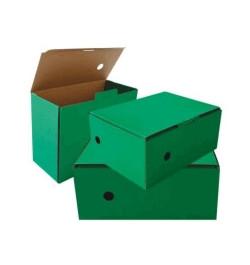 Archyvinė dėžė 15cm žalia
