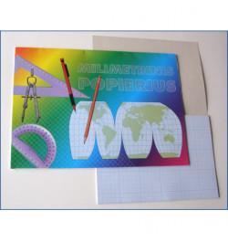 Milimetrinis popierius A3 20lp