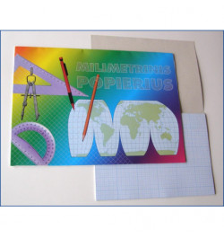 Milimetrinis popierius A4 20lp