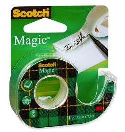 Lipni juosta Scotch Magic 810 19mmx7.5m.dėkle