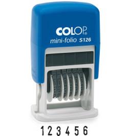 Numeratorius Colop Mini Dater S 126