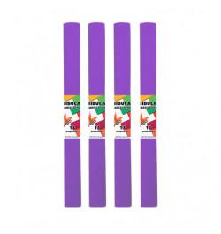 Krepinis popierius 50cmx2m violetinis