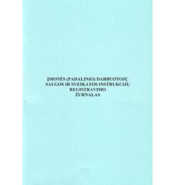 Įmonės (padalinio) darbuotojų saugos ir sveikatos instrukcijų registravimo žurnalas