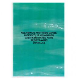Nelaimingų atsitikimų darbe, incidentų aktų registravimo žurnalas