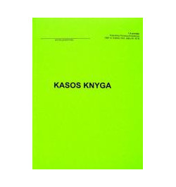 Kasos knyga A5 30lp