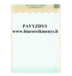 PVM sąskaita-faktūra  A4 2+1 Nr.