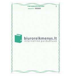 PVM sąskaita-faktūra A4 Nr.