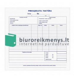 PVM sąskaita faktūra 8 colių