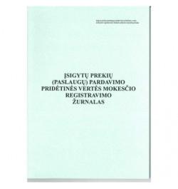Įsigytų prekių ir (arba) pasl.pard. PVM registras