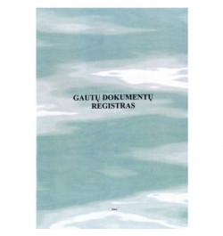 Gautų dokumentų registras A4