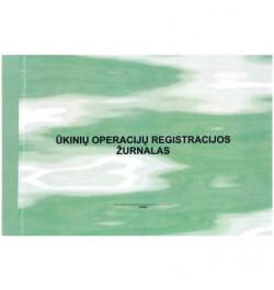 Ūkinių operacijų registravimo žurnalas F-2 II