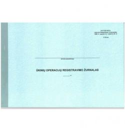 Ūkinių operacijų registravimo žurnalas F-2 I