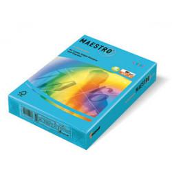 Spalvotas popierius Maestro tamsiai mėlyna A4 80g 500lp