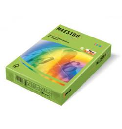 Spalvotas popierius Maestro žalia A4 160g 250lp