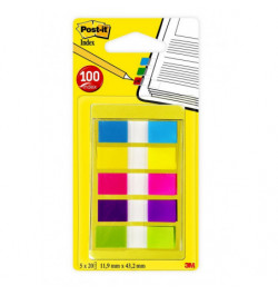 Skirtukai Post-it 12x43 100vnt
