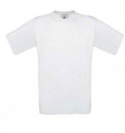 Marškinėliai B&C Exact 150 S balti