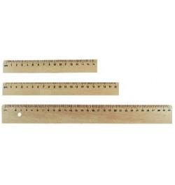 Liniuotė 30cm medinė
