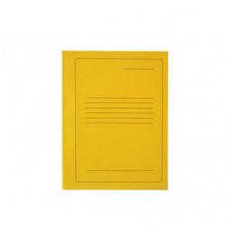 Kartoninis segtuvėlis A4 geltonas