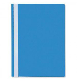 Plastikinis segtuvėlis Interfolia A4 mėlynas