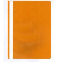 Plastikinis segtuvėlis Interfolia A4 oranžinis