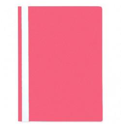 Plastikinis segtuvėlis Interfolia A4 rožinis