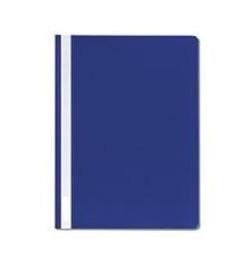 Plastikinis segtuvėlis Interfolia A4 tamsiai mėlynas