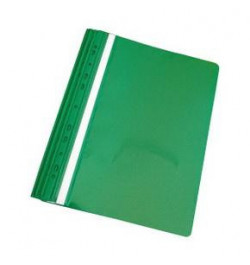 Plastikinis segtuvėlis su perforacija A4 žalias
