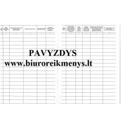 namų darbo registras