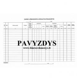 Darbo užmokesčio apskaitos žiniaraštis  ŽK-9