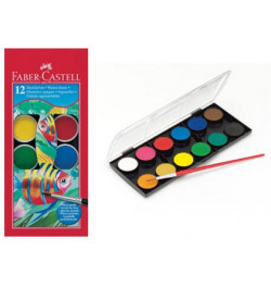 Akvarelė Faber-Castell 12sp