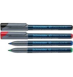 Permanentinis žymeklis Schneider Maxx 224M mėlynas