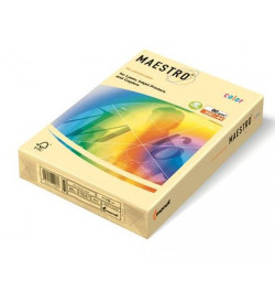 Spalvotas popierius Maestro vanilinė A4 80g 500lp