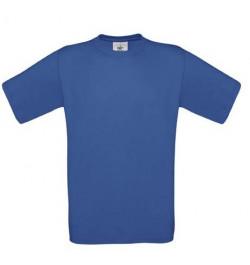 Marškinėliai B&C Exact 150 M mėlyni