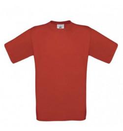 Marškinėliai B&C Exact 150 S raudoni