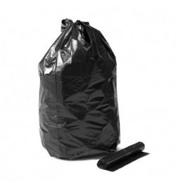 Šiukšlių maišeliai 120l 10vnt juodi