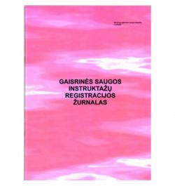 Gaisrinės saugos instruktažų registracijos žurnalas