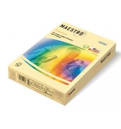Spalvotas popierius Maestro vanilinė A4 160g 250lp