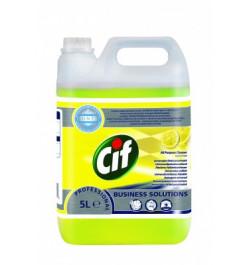 Universali valymo priemonė Cif Professional citrinų kvapo 5l