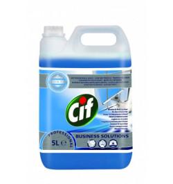 Stiklų ir vandeniui atsparių paviršių valymo priemonė Cif Professional 5l