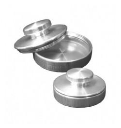 Metalinis antspaudas su mygtuku 30mm
